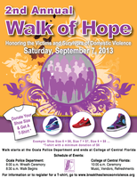2nd Annual Walk of Hope: Honoring Victims and Survivors of...