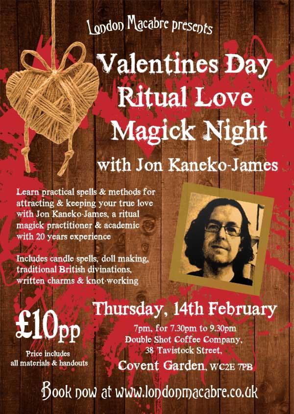 Valentines Ritual Love Magick Night