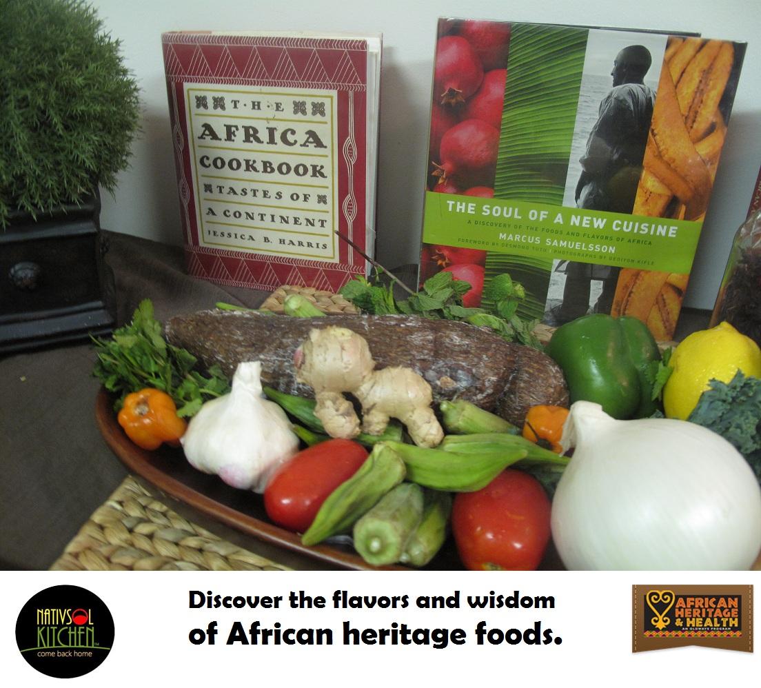 Taste of african heritage health 6 week cooking series for African heritage cuisine
