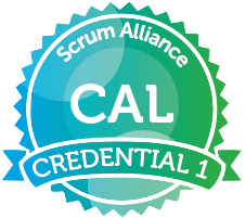 Certified Agile Leadership Badge