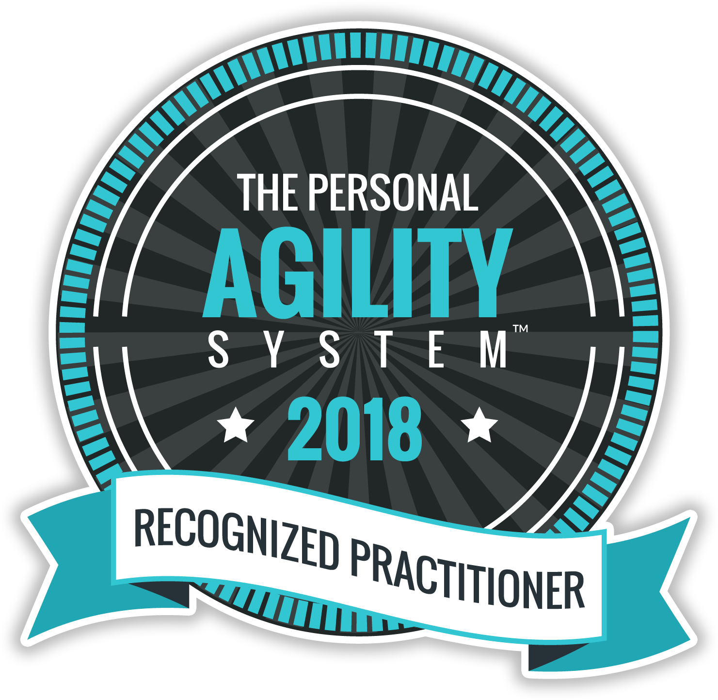 Personal Agility Recognized Practitioner Badge