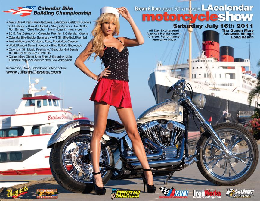 2011 LA Calendar Motorcycle Show