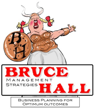 Bruce Hall MS logo