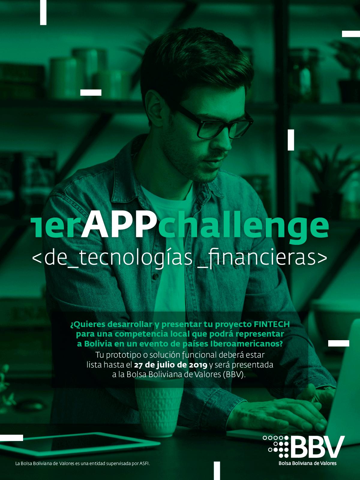 1er App Challenge de FINTECH de la Bolsa Boliviana de Valores