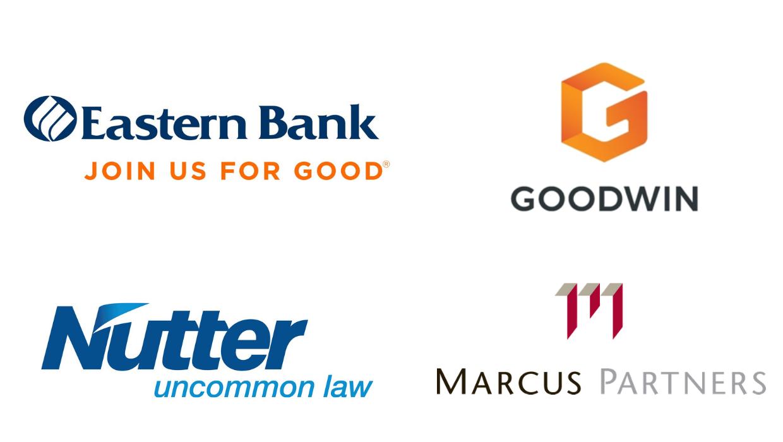 Eastern Bank, Goodwin, Nutter Law & Marcus Partners Logos