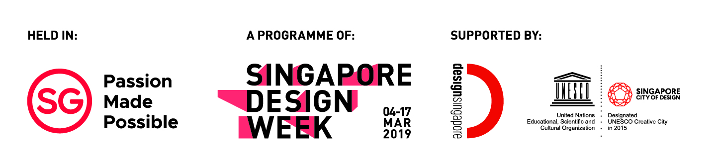 Proud to be part of the Singapore Design Week