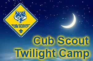 Cub Scout Twilight Camp at First Presbyterian Church, Haines City