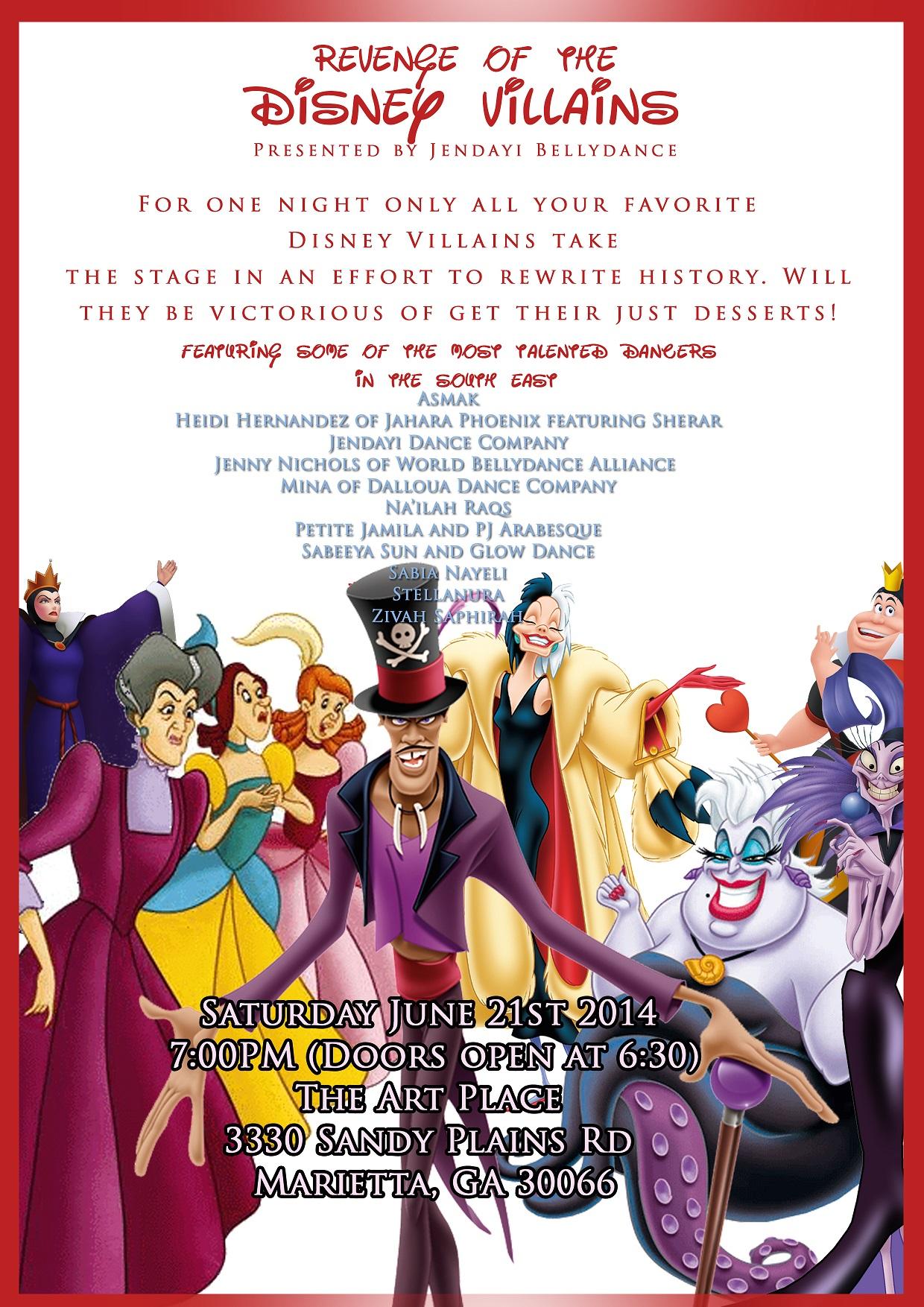 Revenge of Disney Villains