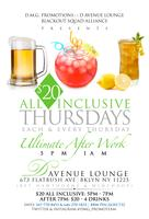 """$2 Thursdays"" $2 Enter & $2 Drinks 5pm - 8pm // $20 (Free Enter..."
