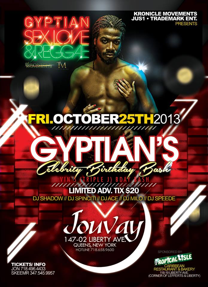 Gyptian's Celebrity Birthday Bash