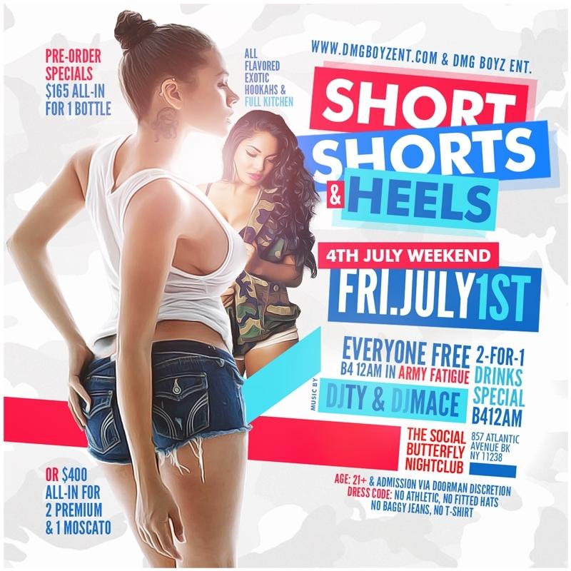 Short Shorts & Heels