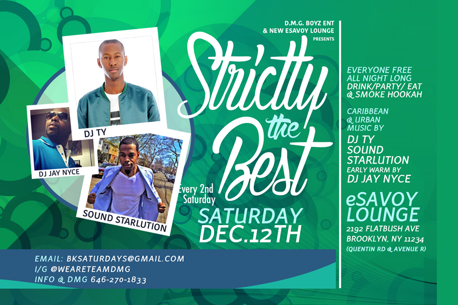 """""""Strictly the Best Saturdays"""""""