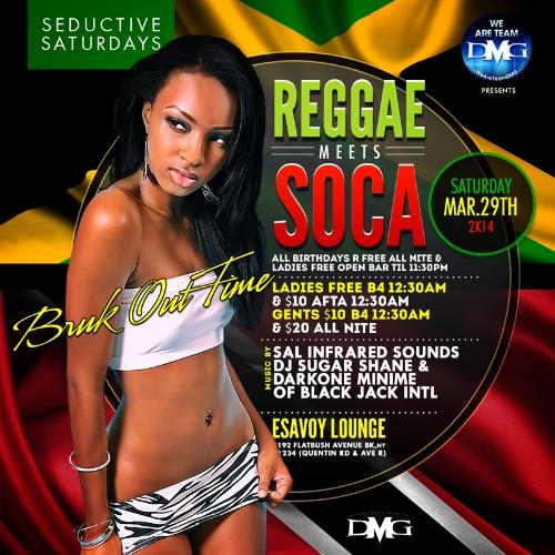 Reggae Meets Soca -Bruk Out Time