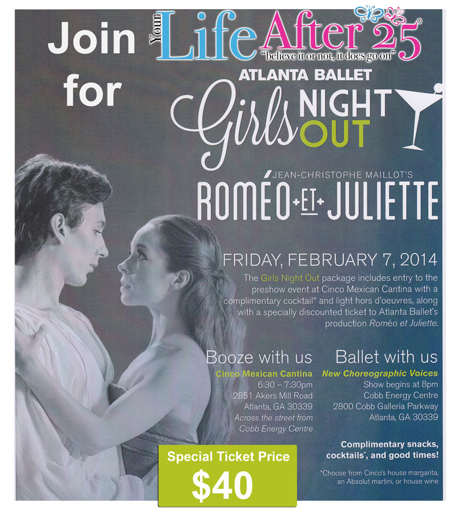 Atlanta Ballet Girls Night Out with Your Life After 25