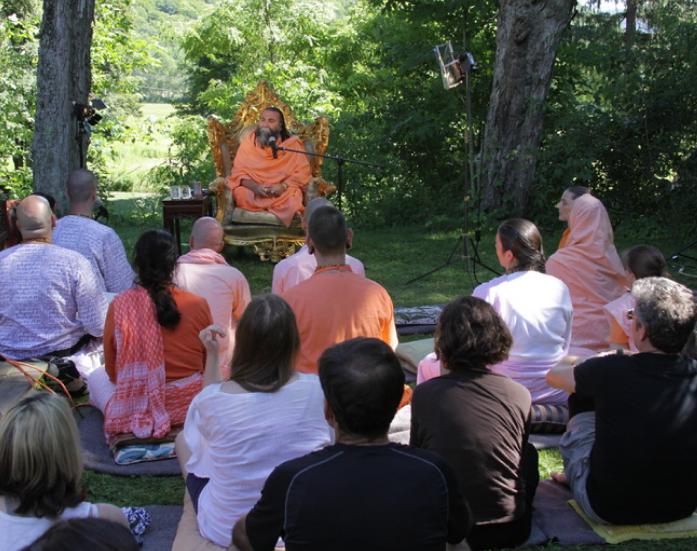 Sri ramakrishnananda guiding meditation upstate ny retreat
