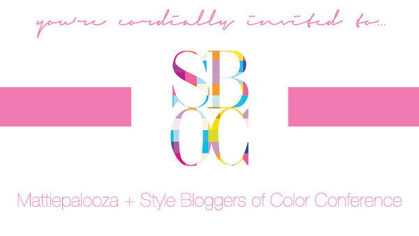 2012 Style Blogger Color of Conference in Atlanta