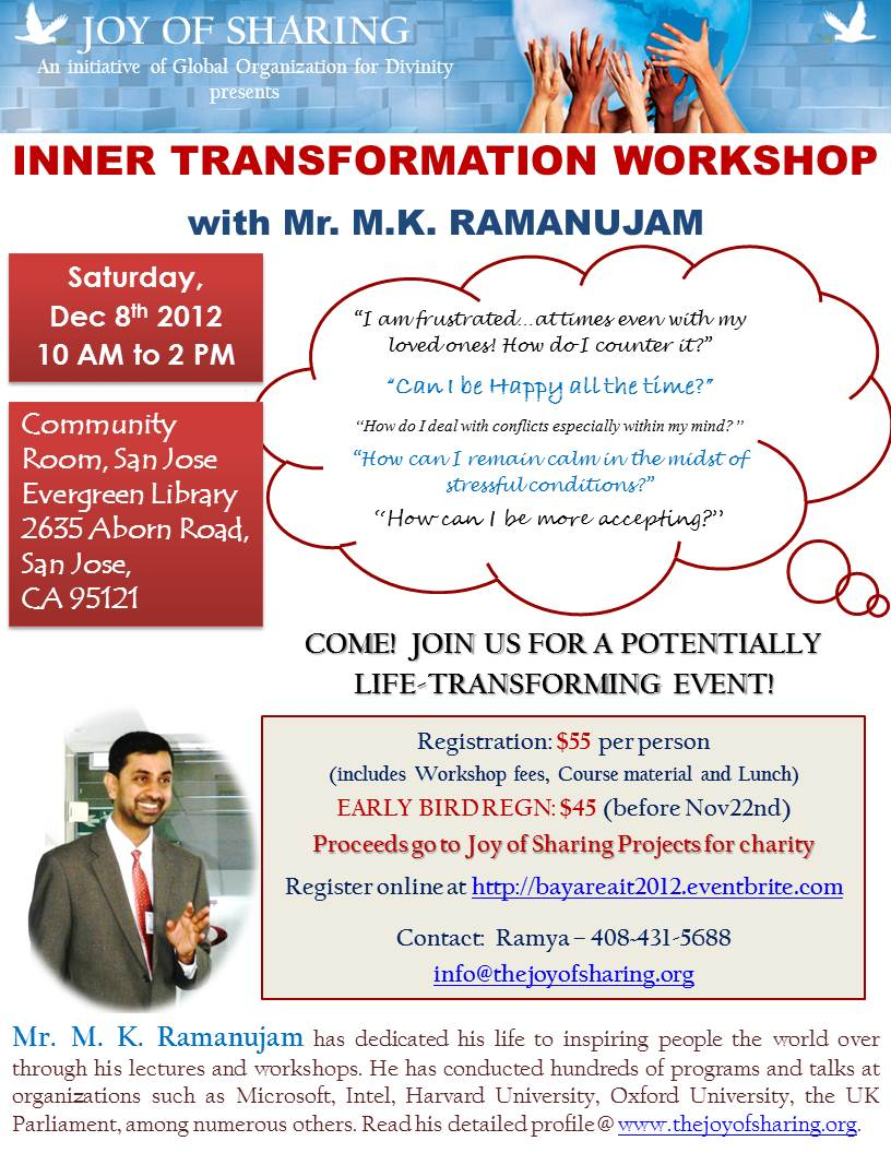 Bay Area Inner Transformation 2012 Flyer