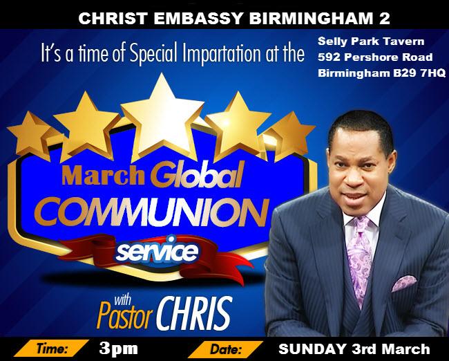 March Communion Service