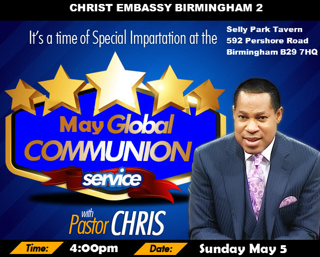 May Communion Service