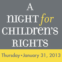 A Night for Children's Rights 2013