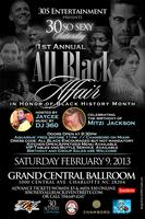 "30 SO SEXY SATURDAY ""ALL BLACK AFFAIR"""