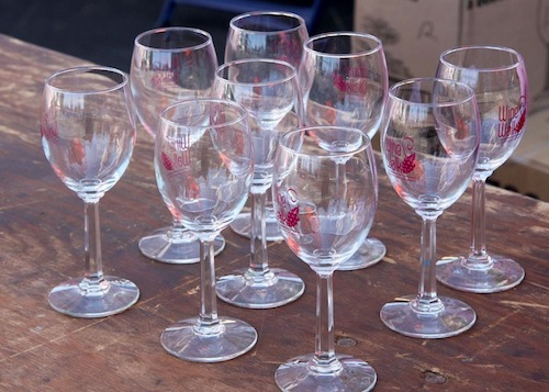 Wine Walk Glasses