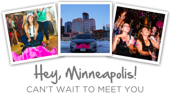 Hey, Minneapolis! Can't Wait To Meet You!