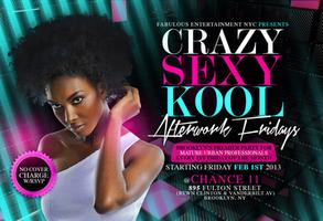 The Return Of Crazy Sexy Kool Afterwork For Mature Urban...