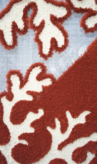 photo of a closeup of an area rug