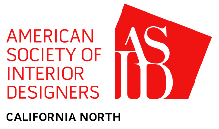 logo of ASID California North chapter in red and black