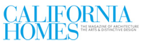 logo of CALIFORNIA HOMES magazine