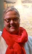 photo of Heidi Gerpheide in red scarft