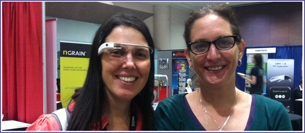 Jaime Levy & Cecilia Abadie at the Augmented Reality Conference 2013