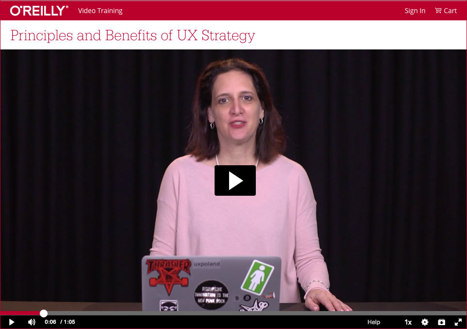 Jaime Levy UX Strategy Training Series O'Reilly Media