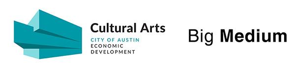 City of Austin Cultural Arts and Big Medium logos