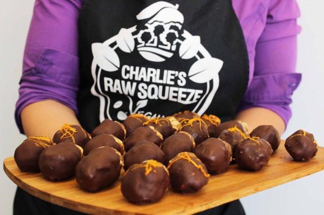 Charlie's peanut bar