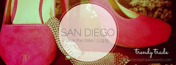 trendy trade March San Diego Clothing Swap Event