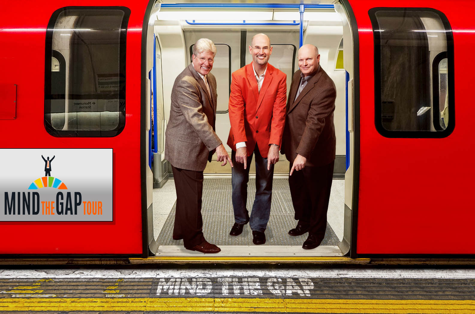 Mind the Gap Tour with Gary, Stan & Tim