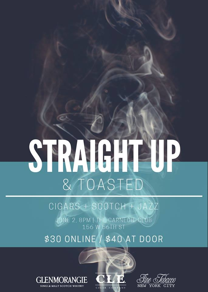 Post image for Event Invite: Straight Up & Toasted Feat. Glenmorangie and Eiroa Cigars
