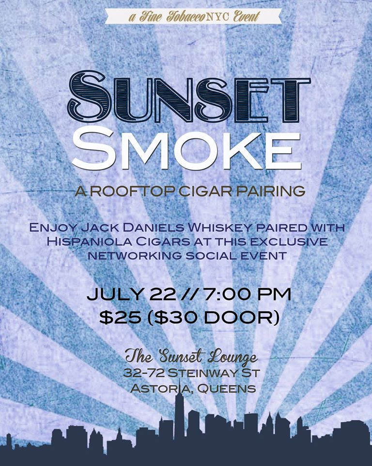 Post image for Event Invite: The Sunset Smoke With Hispaniola Cigars & Jack Daniel's Whiskey