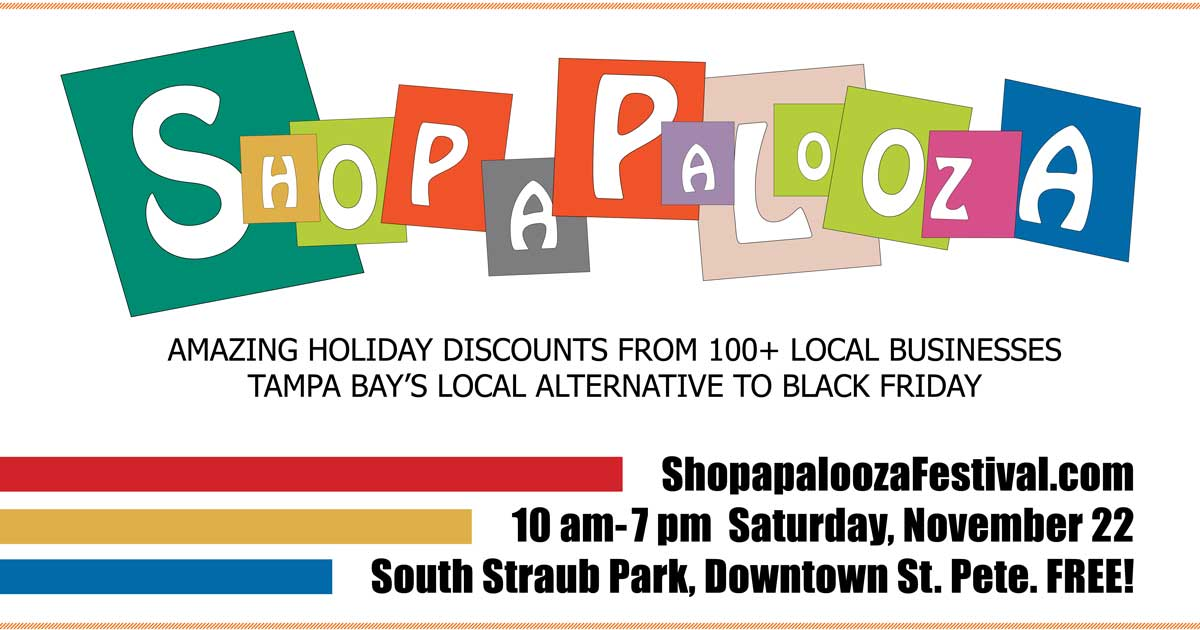 LocalShops1's 5th Annual Shopapalooza Festival- 10am- 7pm, Nov 22