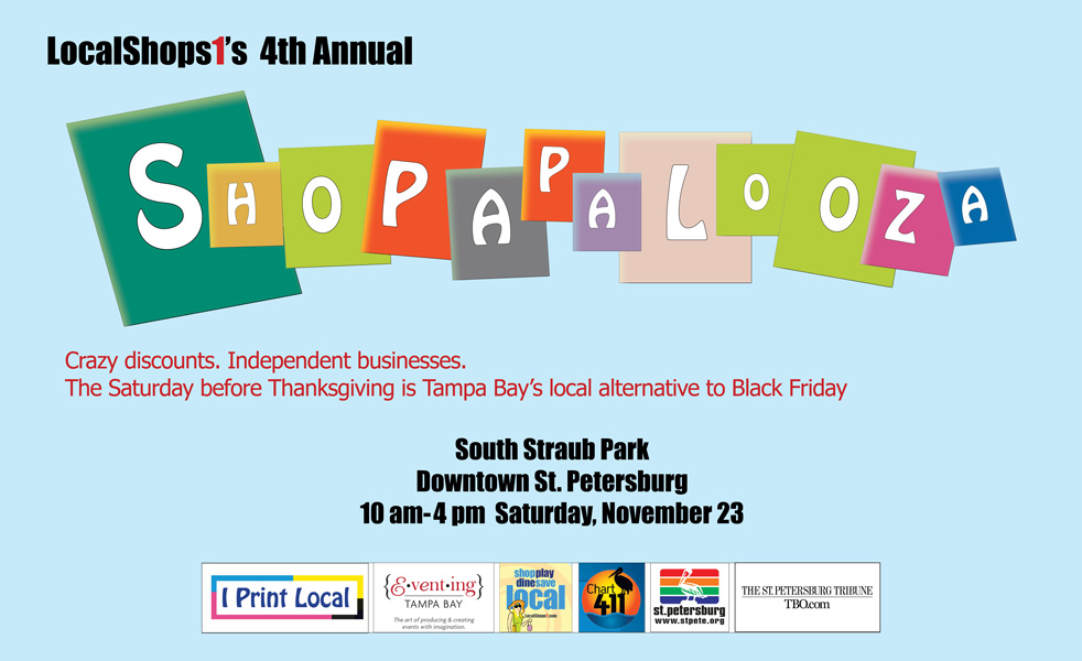 $th Annual Shopapalooza on Nov. 23, 2013 in Downtown St. Petersburg