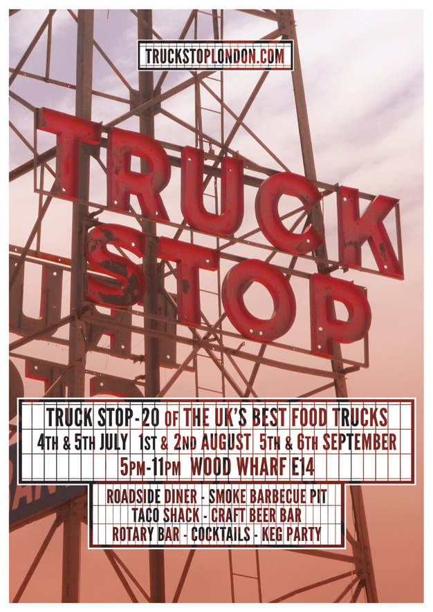 TRUCK STOP POSTER