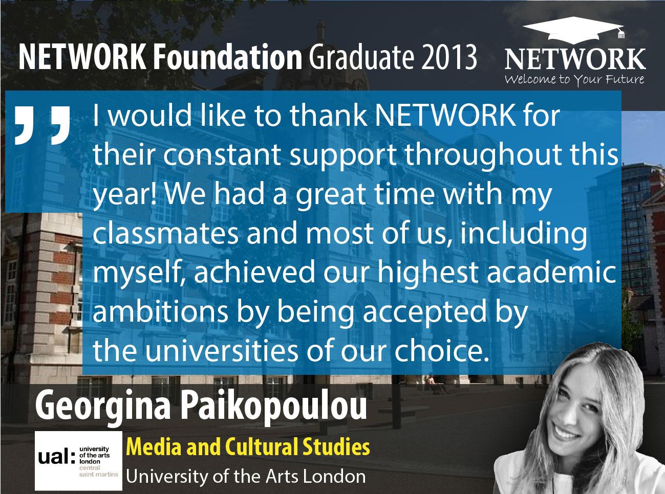 Testimonials Network foundation