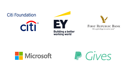 Presented by Citi Foundation, EY, First Republic Bank, Microsoft, and PayPal