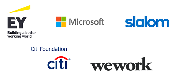 Presented by EY, Slalom, and Microsoft with support from Citi Foundation and WeWork