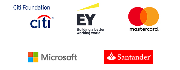 presented by Citi Foundation, EY and Mastercard with support from Microsoft and Santander