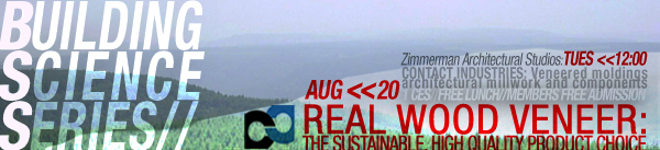 Building Science Series// Real Wood Veneers August 20