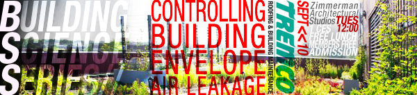 Building Science Series Controlling Building Envelope Air Leakage