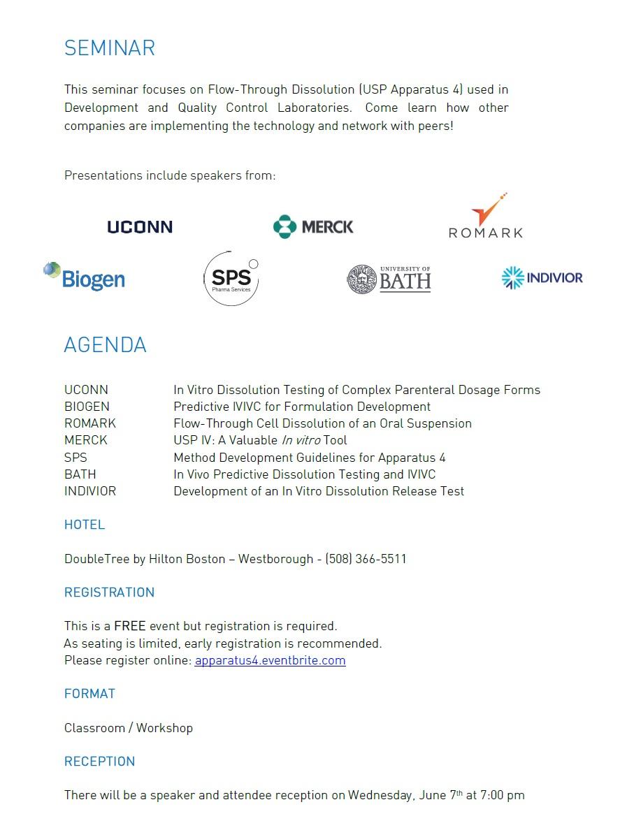 USP4 Seminar